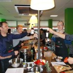 Teamevent Microsoft bei Cook for Friends 016